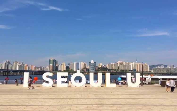 Wisata Di Korea Selatan Terpopuler - Han Gang Park