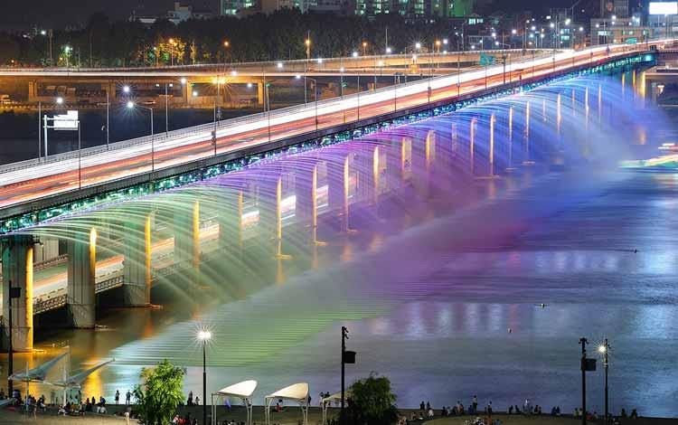 Wisata Di Korea Selatan Terpopuler - Han Gang River