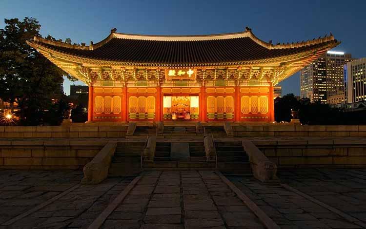 Wisata Di Korea Selatan Terpopuler - Istana Deoksugung
