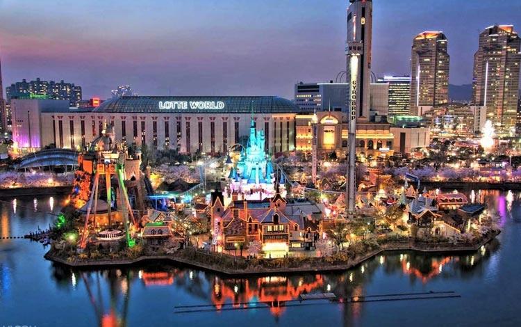 Tempat wisata terpopuler di Korea Selatan - Lotte World