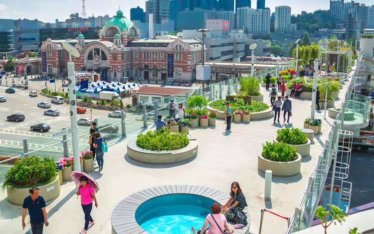 Wisata Di Korea Selatan Terpopuler - Seoullo 7017