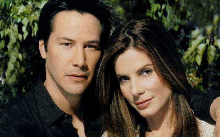 Fakta seputar kisah asmara Keanu Reeves dan Sandra Bullock