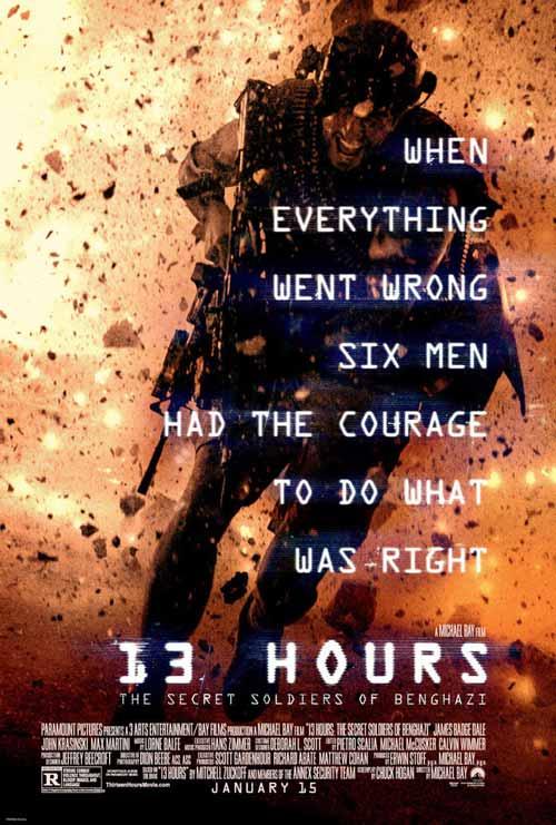 Daftar Film Perang Terbaik Sepanjang Masa - 13 Hours