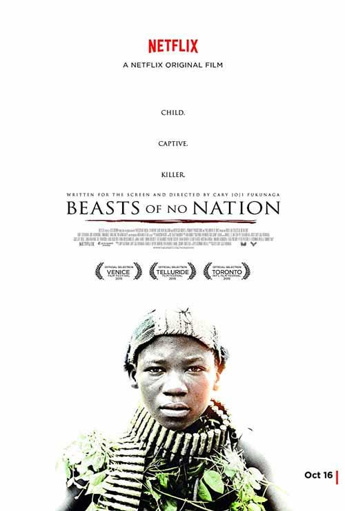 Daftar Film Perang Terbaik Sepanjang Masa - Beasts of No Nation