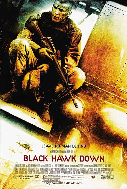 Daftar Film Perang Terbaik Sepanjang Masa - Black Hawk Down