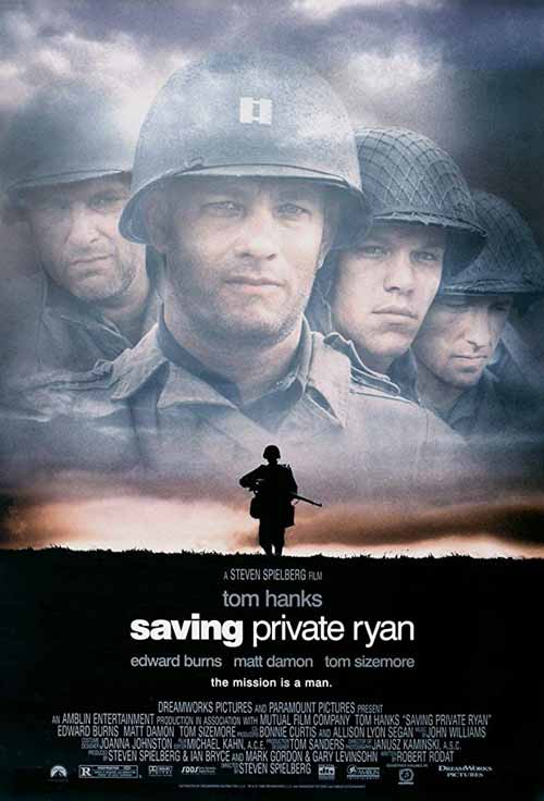 Daftar Film Perang Terbaik Sepanjang Masa - Saving Private Ryan