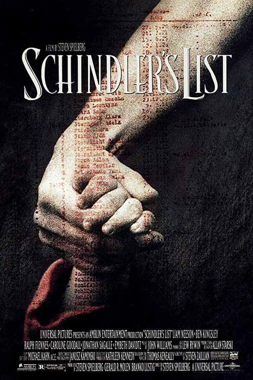 Daftar Film Perang Terbaik Sepanjang Masa - Schindler's List
