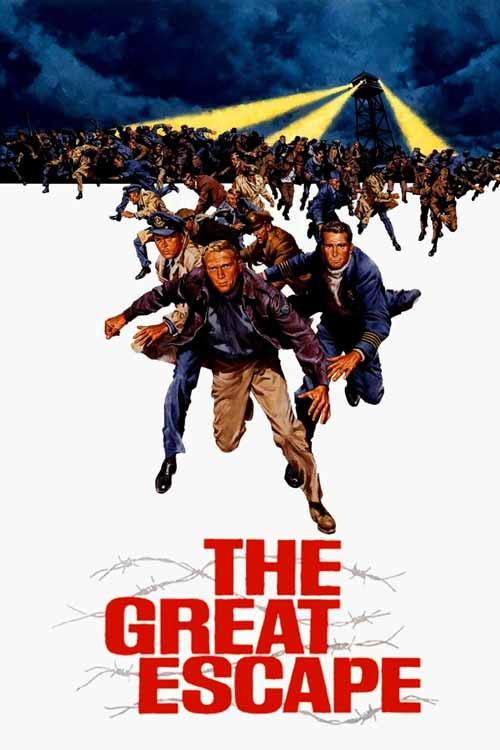 Daftar Film Perang Terbaik Sepanjang Masa - The Great Escape