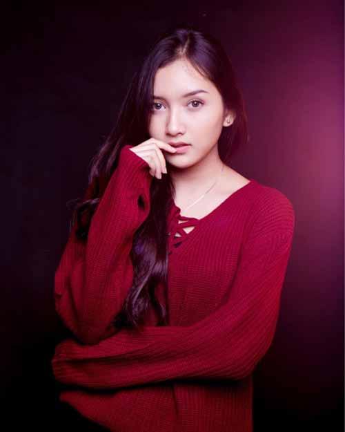 Daftar Pemain Sinetron Cinta Anak Muda SCTV Terlengkap - Yuriska Patricia sebagai Anggi