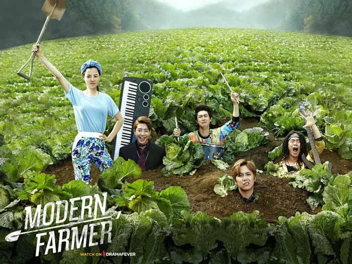 Drama Korea komedi terlucu - Modern Farmer