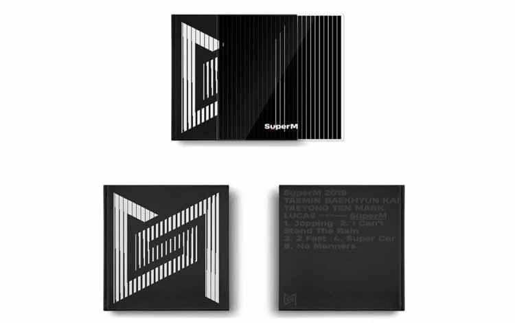 Fakta Menarik Seputar SuperM - Mini Albumnya Memiliki 8 versi