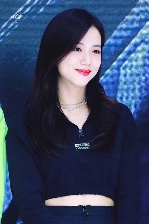 Foto Jisoo Blackpink Saat Di Acara Adidas Ultraboost, Hangul Limited Edition Korea Selatan