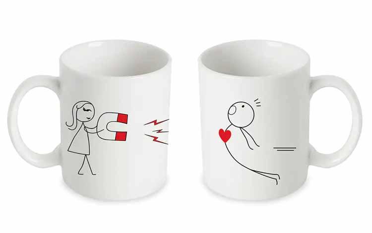 Kado Untuk Sahabat atau Pasangan - Mug Cantik