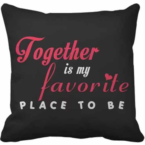 Kado Untuk Sahabat atau Pasangan - Throw Pillow