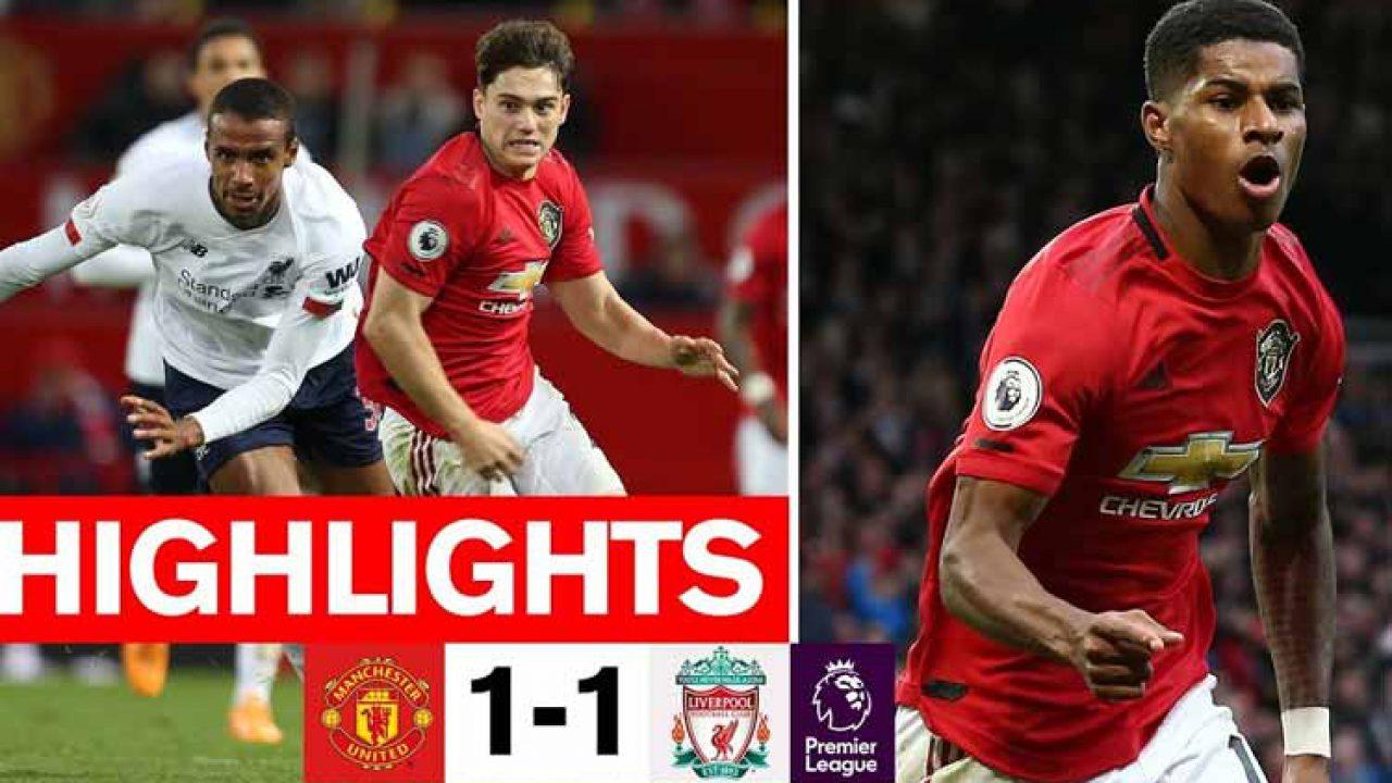 Manchester United VS Liverpool Berakhir Seri Hasil Lengkap