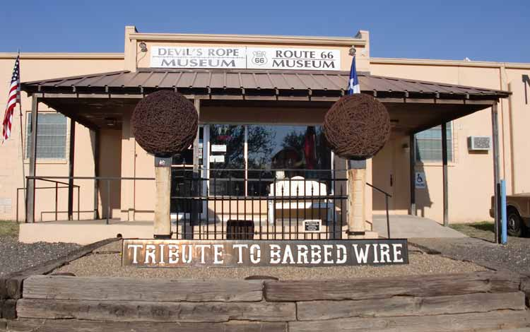 Museum-museum Terunik di Dunia - Barbed Wire Museum, Amerika Serikat