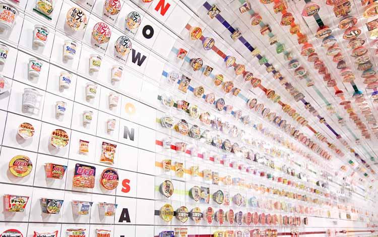 Museum-museum Terunik di Dunia - Cup Noodles Museum, Jepang