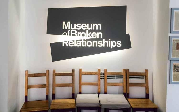Museum-museum Terunik di Dunia - Museum of Broken Relationship, Kroasia