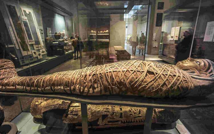 Museum-museum Terunik di Dunia - Royal Mummy Room, Mesir