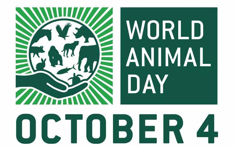 Peristiwa-pertistiwa Penting Yang Tejadi Di Bulan Oktober - Hari Hewan Sedunia