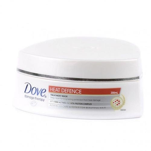 Rekomendasi Merk Masker Rambut Yang Bagus - Dove Damage Therapy Heat Defence Treatment Mask