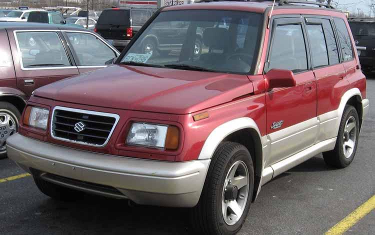Rekomendasi Mobil Bekas Bagus Dengan Harga Murah - Suzuki Escudo 95