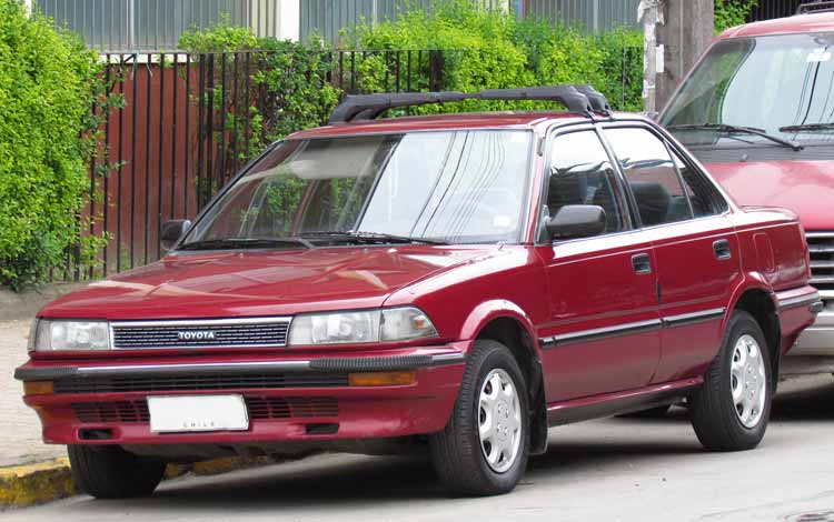 Rekomendasi Mobil Bekas Bagus Dengan Harga Murah - Toyota Corolla GL