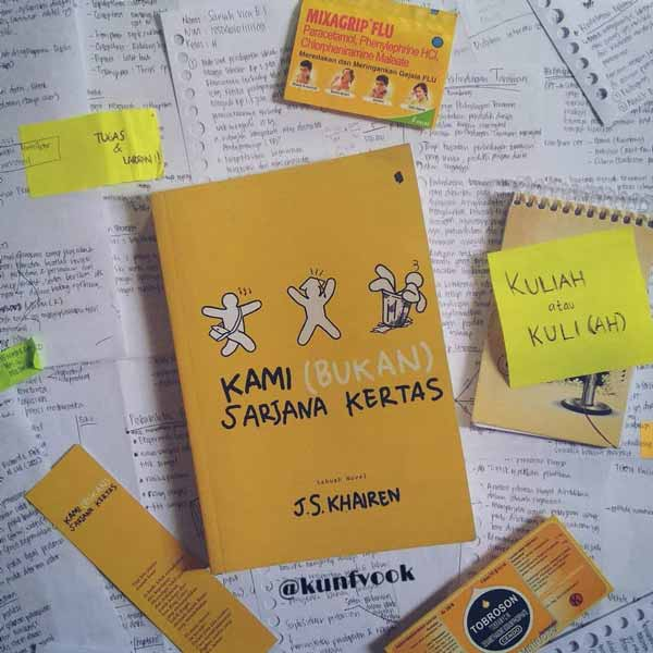 Novel best seller 2019 - Kami (Bukan) Sarjana Kertas