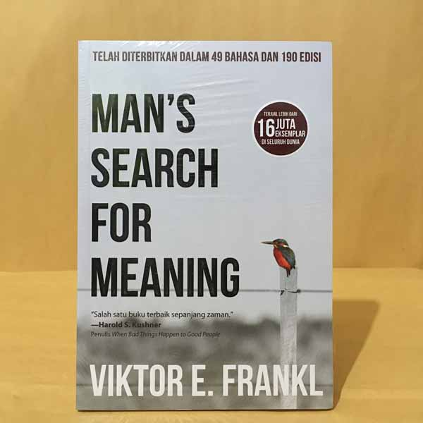 Novel best seller 2019 - Man's Search For Meaning