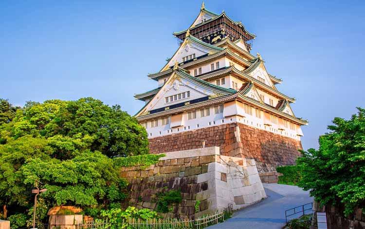 Wisata Terfavorit Di Jepang - Kastil Osaka