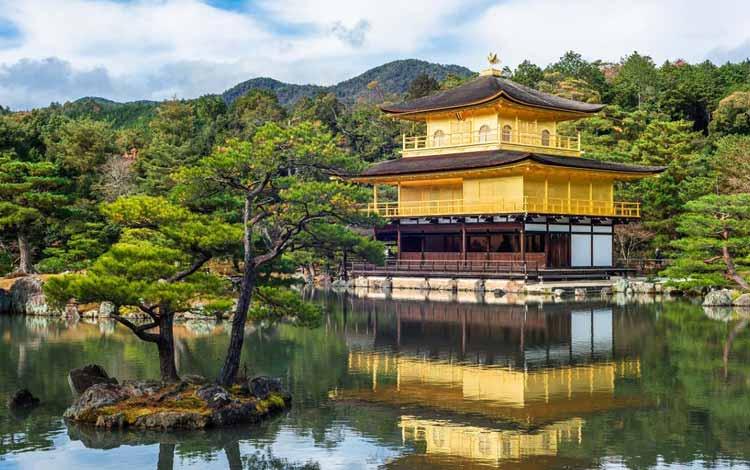 Wisata Terfavorit Di Jepang - Kinkaku-ji