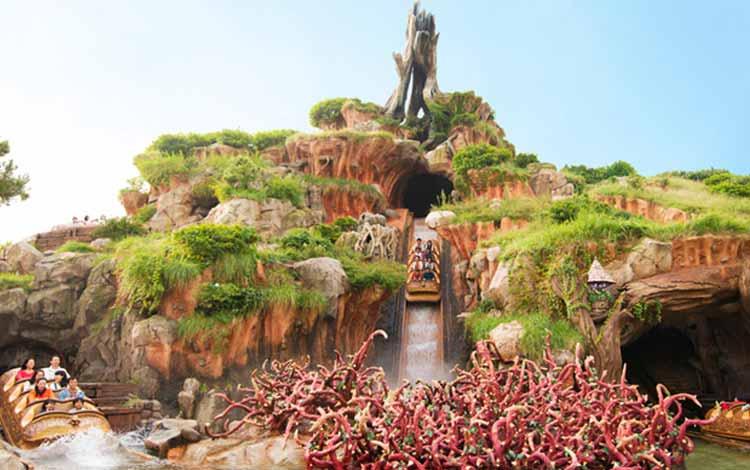 Wisata Terfavorit Di Jepang - Tokyo Disneyland, Splash Mountain