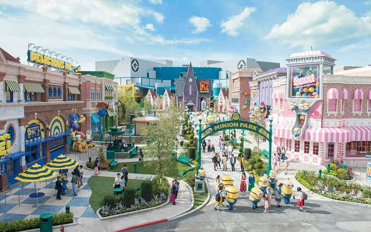 Wisata Terfavorit Di Jepang - Universal Studio Jepang