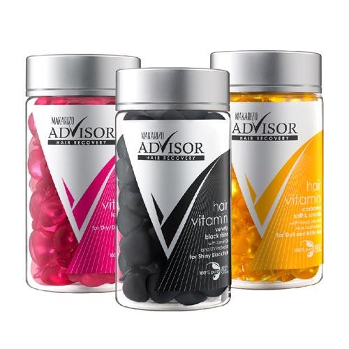 Vitamin rambut yang bagus - Makarizo Advisor Hair Recovery