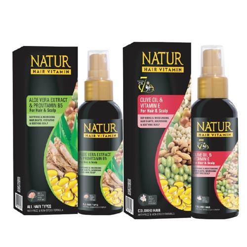 Vitamin rambut yang bagus - Natur Hair Vitamin