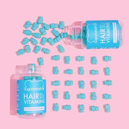 Vitamin rambut yang bagus - SugarBearHair Vitamin