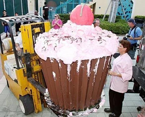 Deretan Makanan Dengan Ukuran Super Jumbo - Cupcake