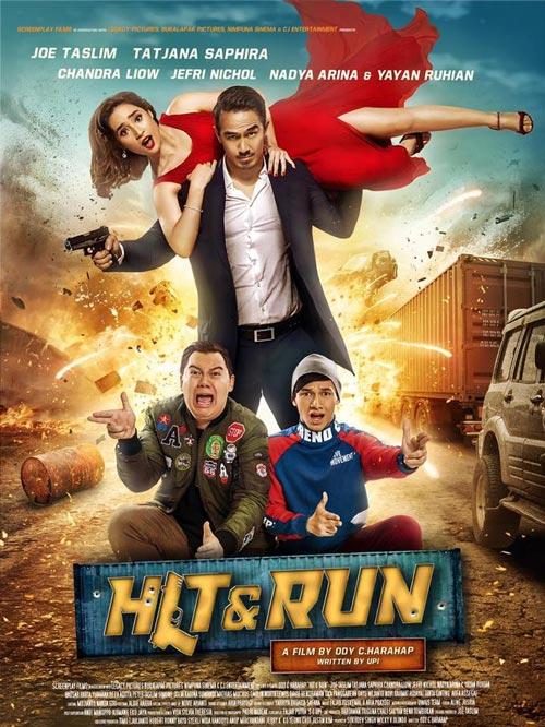 Film Yang Pernah Dibintangi Jefri Nichol - Hit & Run