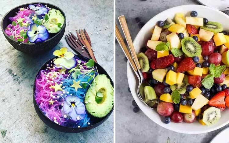 Makanan warna warni bagus untuk kesehatan