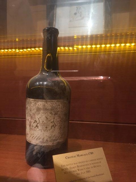 Wine Termahal Di Dunia - Chateau Margaux 1787