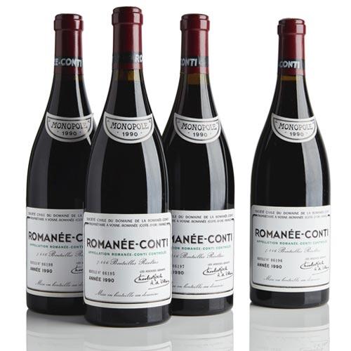 Wine Termahal Di Dunia - Domaine de la Romanee Conti 1990