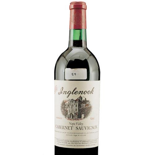 Wine Termahal Di Dunia - Inglenook Cabernet Sauvignon 1941