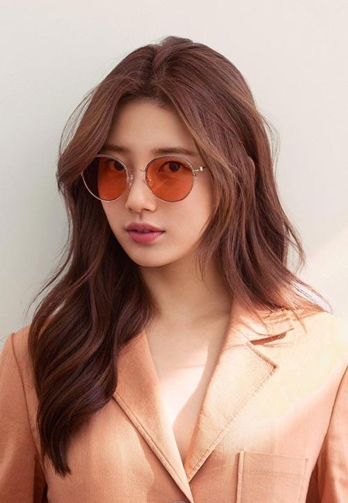 Model dan Warna Rambut Artis Korea Yang Bisa Ditiru - Suzy