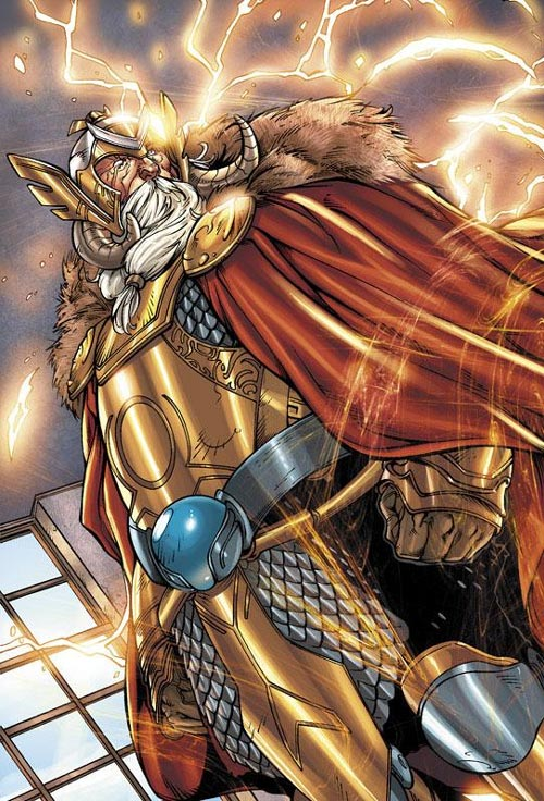 Superhero Marvel Terkuat - Odin