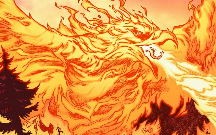 Superhero Marvel Terkuat - Phoenix Force