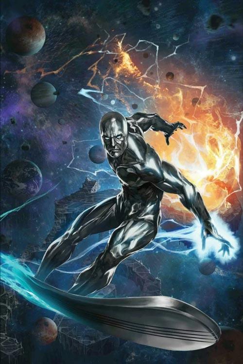 Superhero Marvel Terkuat - Silver Surfer
