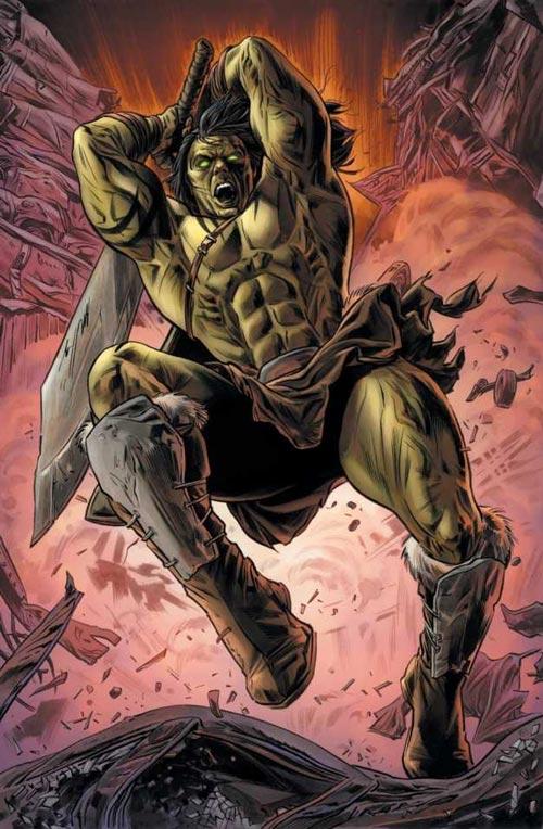 Superhero Marvel Terkuat - Skaar