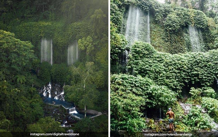 Tempat Wisata Di Lombok Terbaru dan Lagi Hits - Air Terjun Benang Kelambu