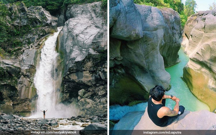 Tempat Wisata Di Lombok Terbaru dan Lagi Hits - Air Terjun Mangku Sakti