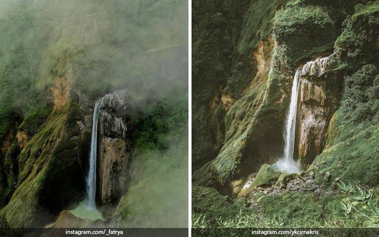 Tempat Wisata Di Lombok Terbaru dan Lagi Hits - Air Terjun Penimbungan